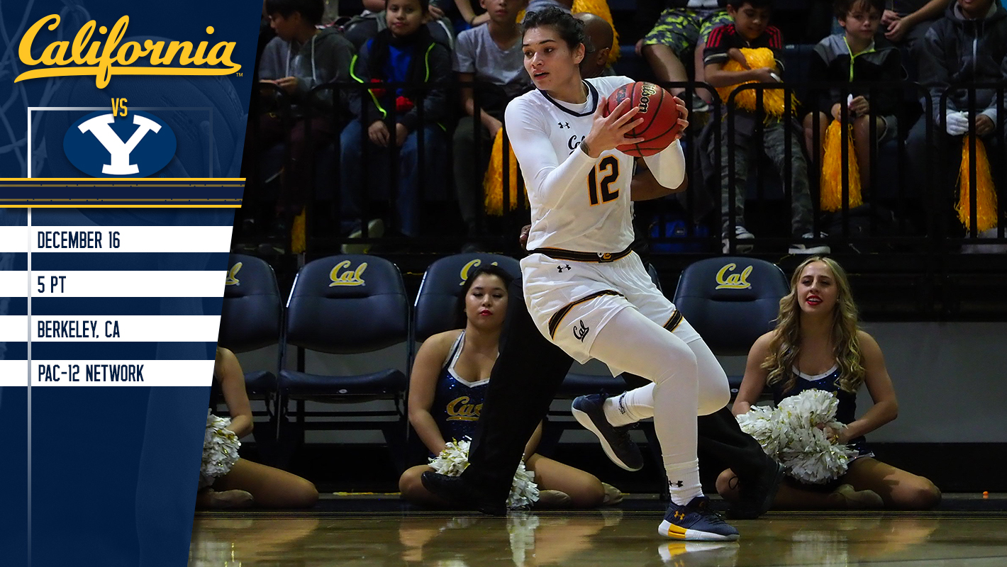 cal hosts byu in non-conference home finale - calbears