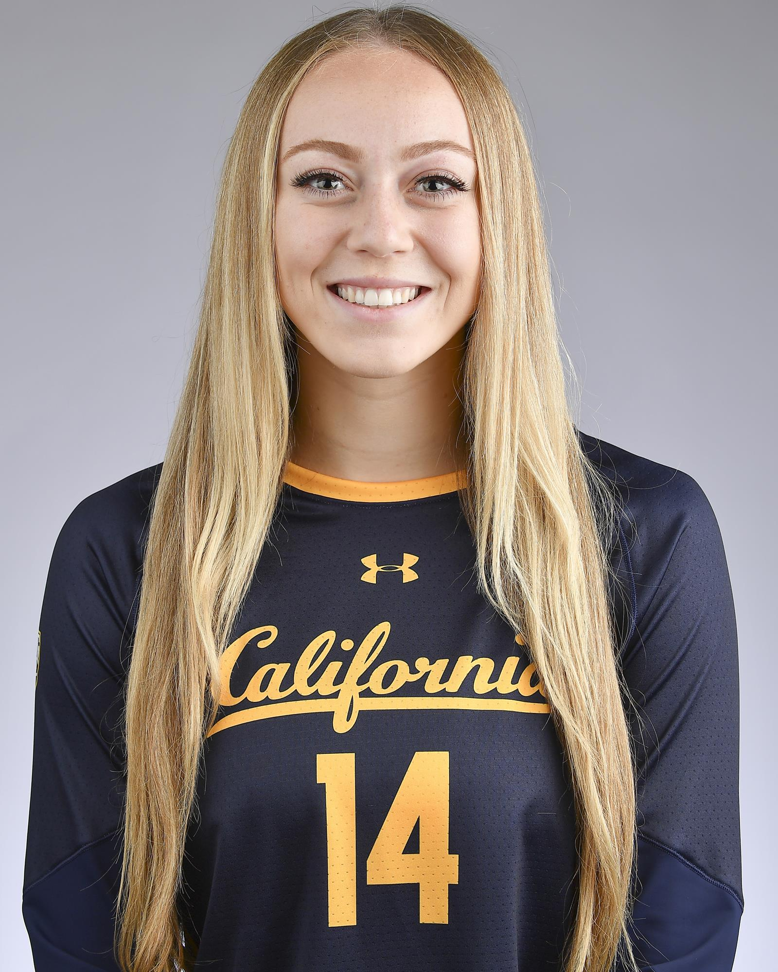 2019 Volleyball Roster University Of California Golden Bears Athletics
