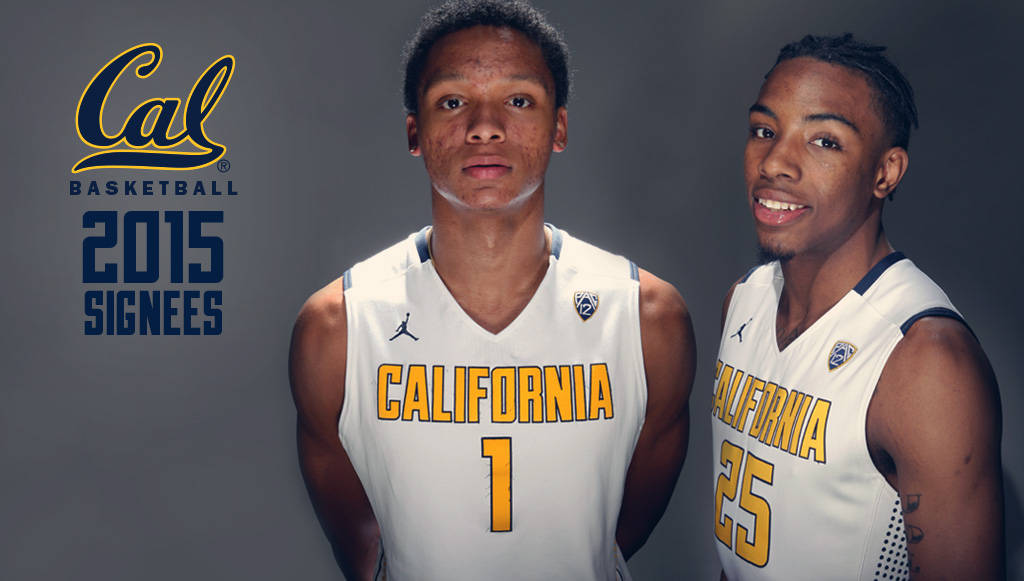 pretty nice 92ed6 fbed6 California Men?s Basketball Signs Pair of Scholastic ...