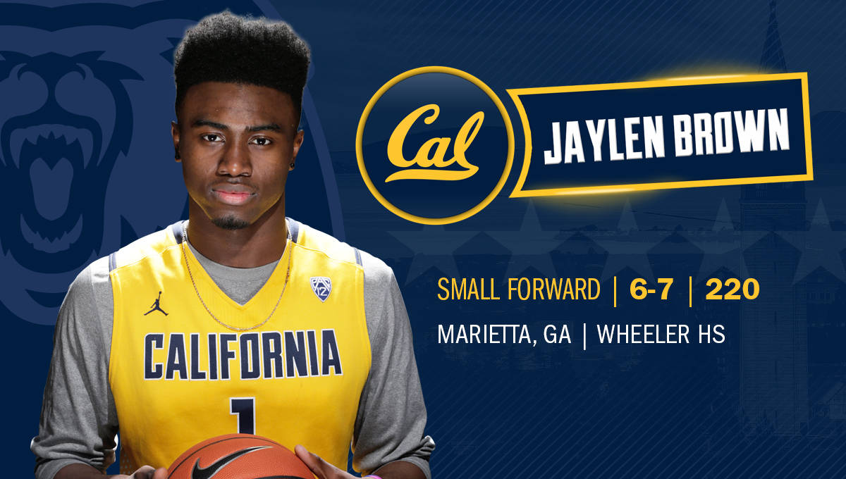 best service 7e8ce 1fcfa High School All-American Jaylen Brown Signs With California ...