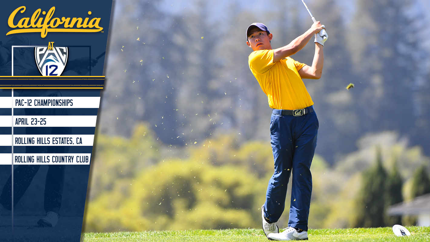 Cal At Pac-12 Championships Monday-Wednesday