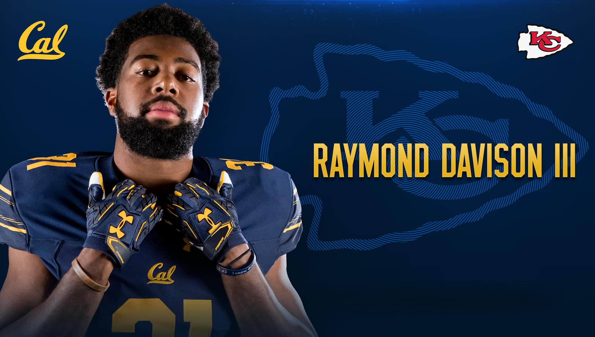 kansas city signs raymond davison iii university of california