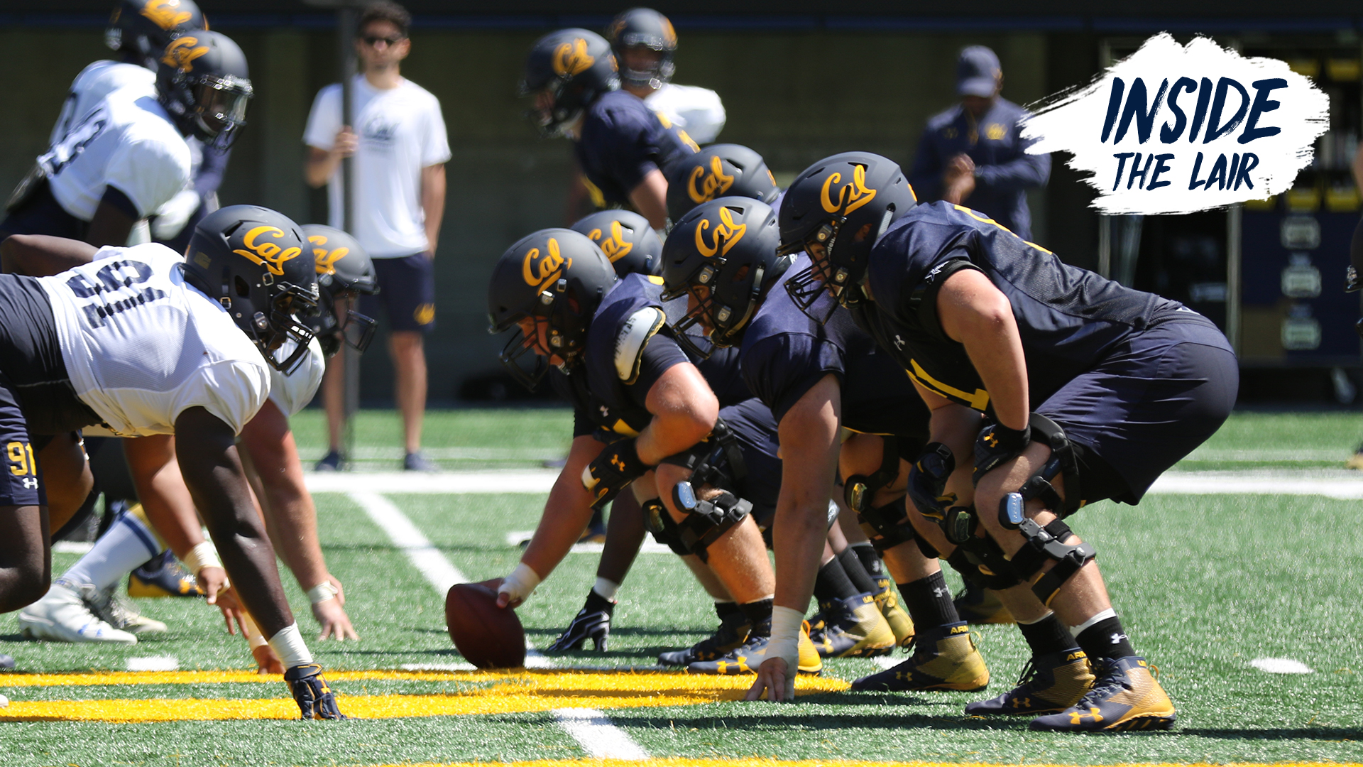 Image result for cal golden bears offensive line 2019