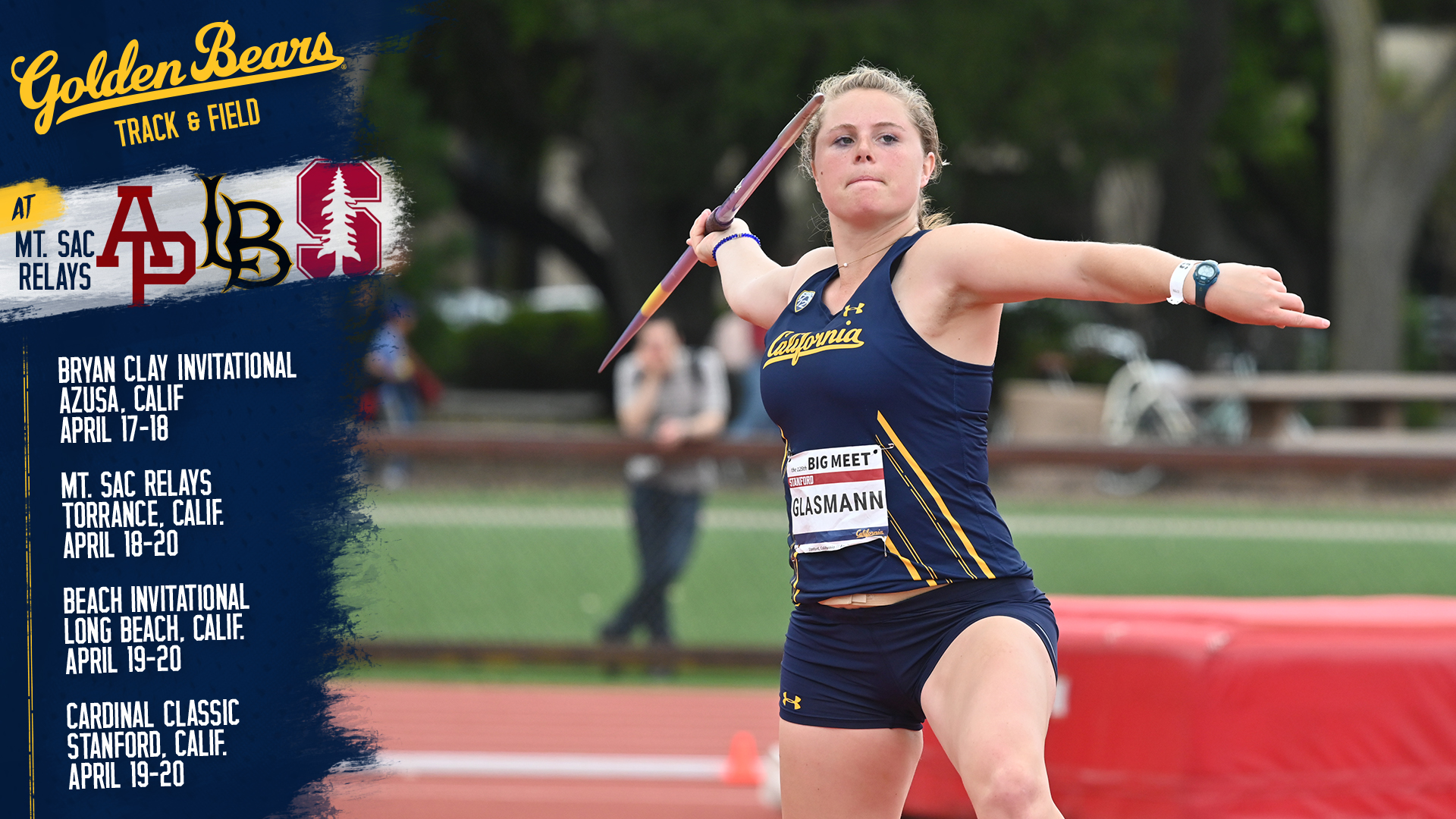 Cal Track & Field Heads To Southern California