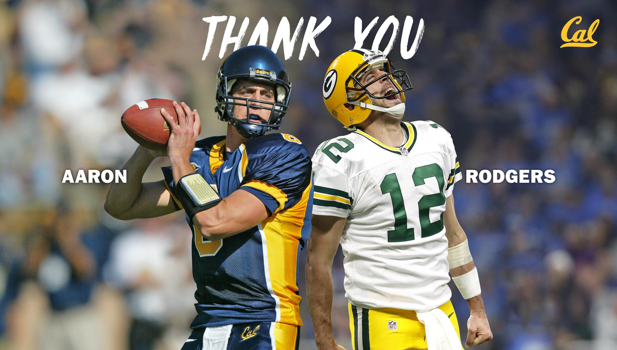 Aaron Rodgers Makes Seven Figure Gift To Cal Athletics University Of California Golden Bears Athletics