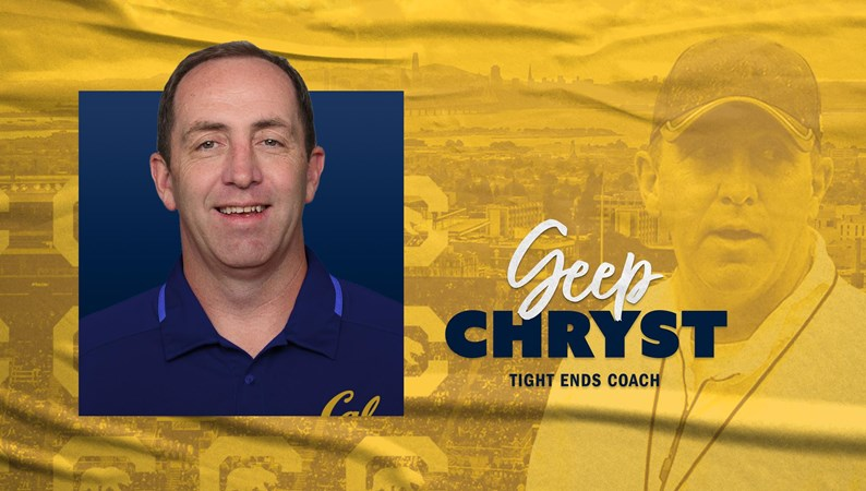 Geep Chryst Named Tight Ends Coach - University of California Golden Bears Athletics